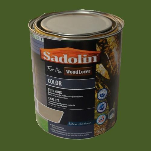 Lasure SADOLIN Wood Lover COLOR CHALETS Satinée Pépinière 2,5L