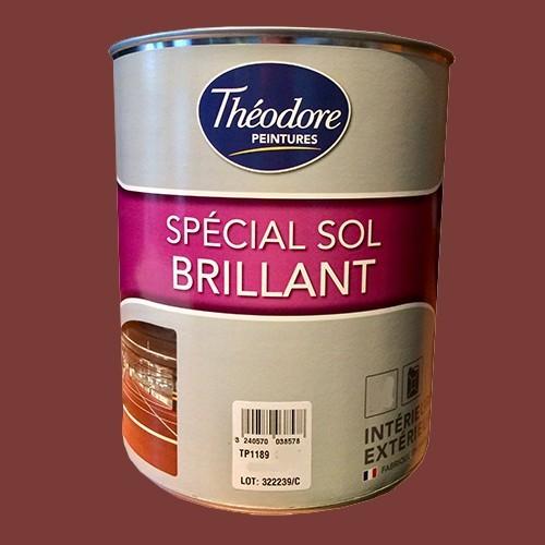 Théodore Peinture Spécial Sol Brillant Rouge 3011