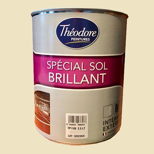 Théodore Peinture Spécial Sol Brillant Sable 1015