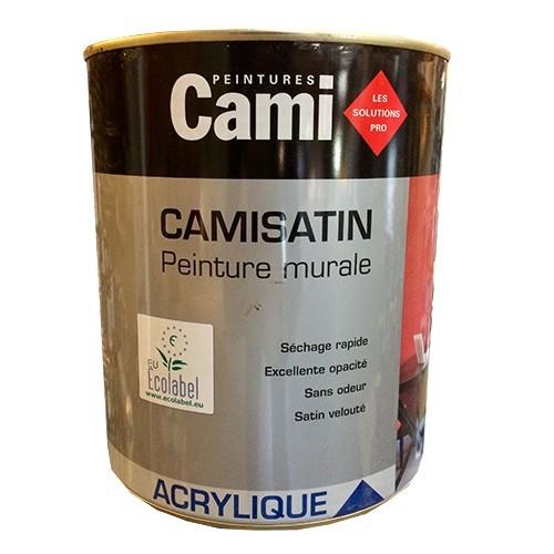 CAMI Peinture Acrylique CAMISATIN Blanc