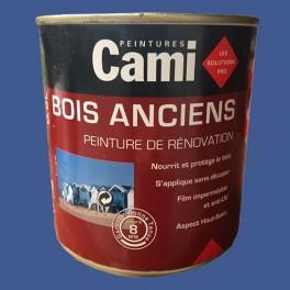 CAMI Peinture Glycéro BOIS ANCIENS Bleu Outremer
