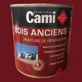 CAMI Peinture Glycéro BOIS ANCIENS Rouge Basque