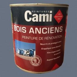 CAMI Peinture Glycéro BOIS ANCIENS Gris titane