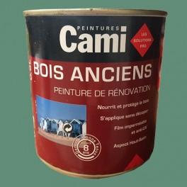 CAMI Peinture Glycéro BOIS ANCIENS Vert Olivier
