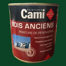 CAMI Peinture Glycéro BOIS ANCIENS Vert Jardin
