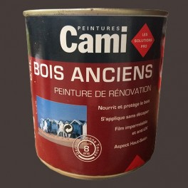 CAMI Peinture Glycéro BOIS ANCIENS Brun normand