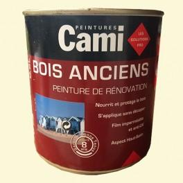 CAMI Peinture Glycéro BOIS ANCIENS Blanc cassé