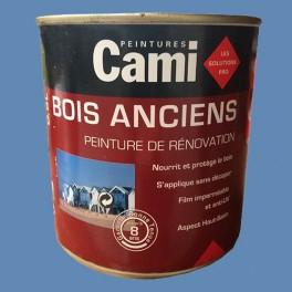CAMI Peinture Glycéro BOIS ANCIENS Bleu Provence