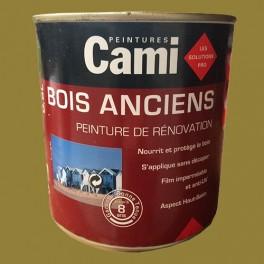 CAMI Peinture Glycéro BOIS ANCIENS Vert kaki