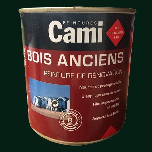 CAMI Peinture Glycéro BOIS ANCIENS Vert bronze