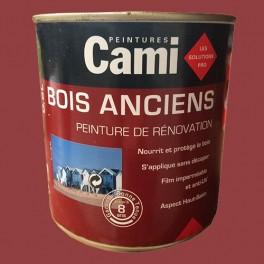 CAMI Peinture Glycéro BOIS ANCIENS Rouge