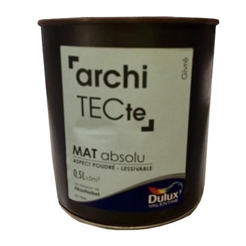 DULUX VALENTINE Peinture archiTECte Mat Absolu Givré