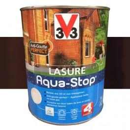 V33 Lasure Aqua-stop 4ans Anti-goutte Chêne foncé