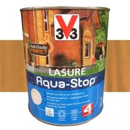 V33 Lasure Aqua-stop 4ans Anti-goutte Merisier
