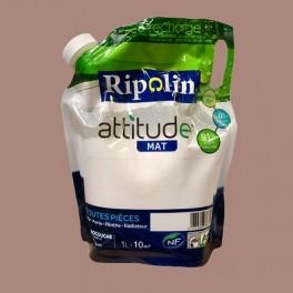 RIPOLIN Peinture Attitude 1L Taupe Mat