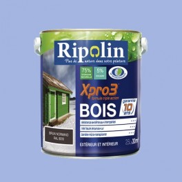 Ripolin Peinture Xpro3 Bois Bleu Lavande