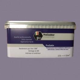 Pro Couleurs Peinture Acrylique Satinée 2 5l Gris Taupe