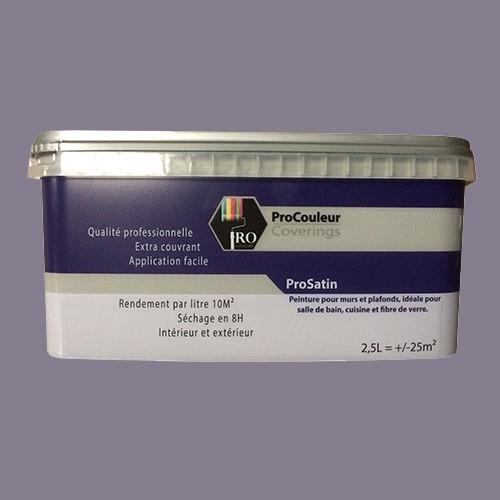 Pro Couleurs Peinture Acrylique Satinée 25l Gris Taupe Pas Cher En