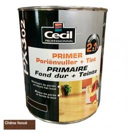 CECIL PX302 Primaire Fond dur + Teinte Chêne foncé