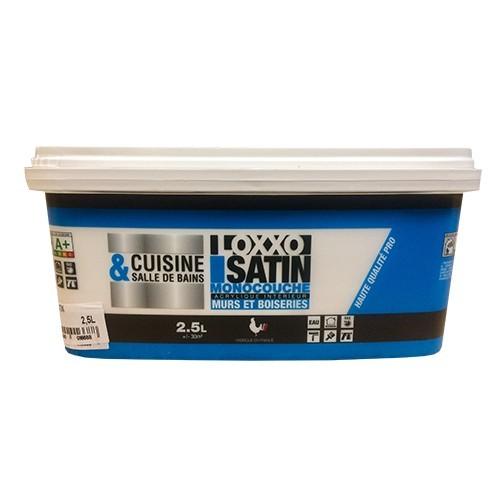 LOXXO Peinture Satin Cuisine et salle de bains Blanc