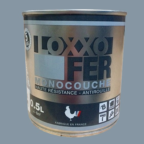 LOXXO Peinture Fer Antirouille Gris argent