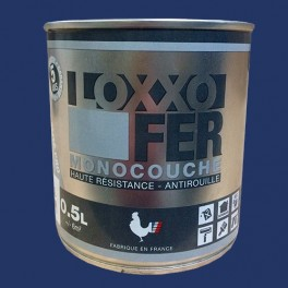 LOXXO Peinture Fer Antirouille Bleu nocturne