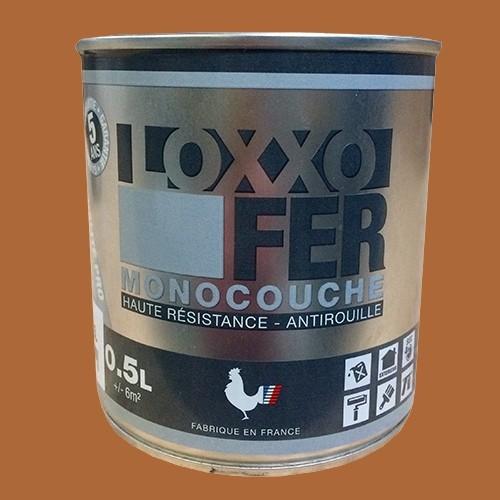 LOXXO Peinture Fer Antirouille Terre de Sienne