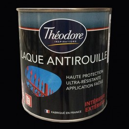 Théodore Laque Antirouille Noir