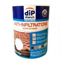 DIP étanch Anti-Infiltration Toitures Blanc