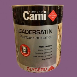 CAMI Peinture Glycéro LEADERSATIN Prune