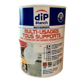 DIP étanch Multi-Usages Tous supports Blanc