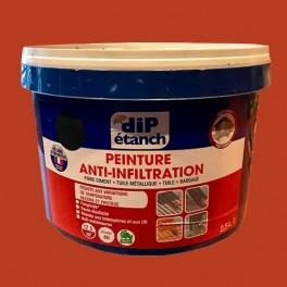 DIP Peinture Anti-Infiltration 2,5L Tuile