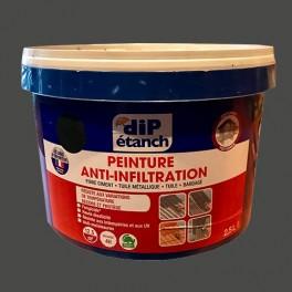 DIP Peinture Anti-Infiltration 2,5L Ardoise