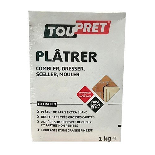 TOUPRET Plâtrer 1kg