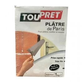 TOUPRET Plâtre de Paris 1kg