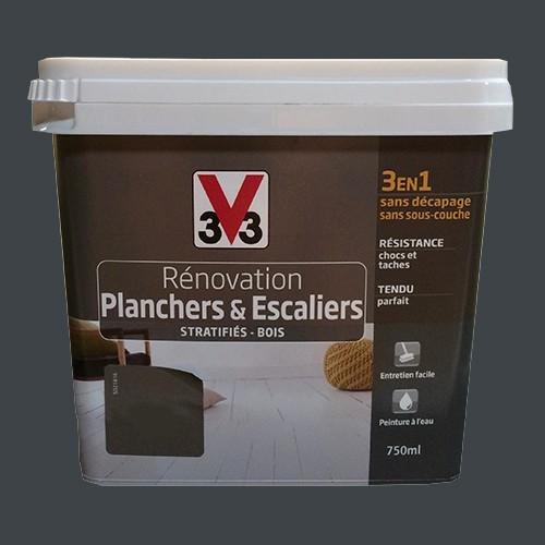 V33 Rénovation Planchers & Escaliers Gris zingué pas cher en ligne