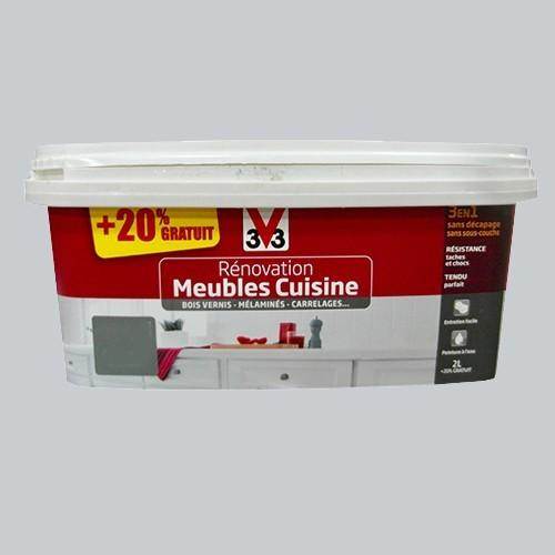 V33 Rénovation Meubles Cuisine (Bois vernis-Mélaminés ...