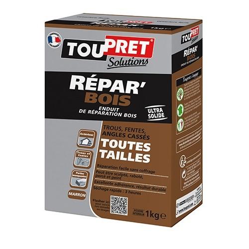 TOUPRET Enduit de réparation Repar'Bois 1 kg