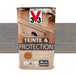 V33 Teinte & Protection 0,5L Gris fumé