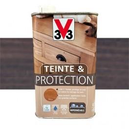V33 Teinte & Protection 0,5L Wengé