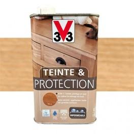 V33 Teinte & Protection 0,5L Chêne clair