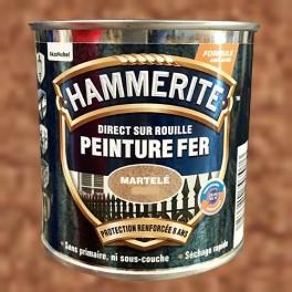 Peinture Fer Hammerite Direct sur Rouille Cuivre Martelé