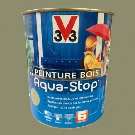 Peinture V33 Bois Aqua-Stop Vert Mousse Satin