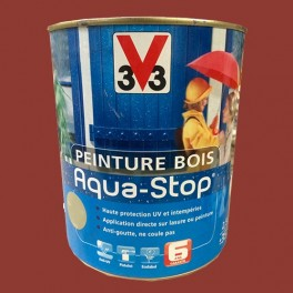 Peinture V33 Bois Aqua-Stop Terre d'Ocre Satin