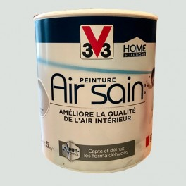 Peinture V33 AIR SAIN Gris Granit