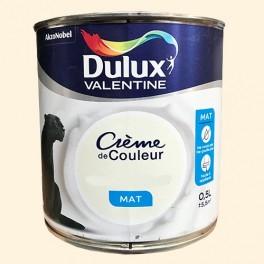Dulux Valentine Peinture Acrylique Crème De Couleur Blanc Cassé Mat