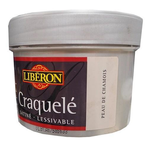 LIBÉRON Peinture Effet Craquelé Peau de Chamois