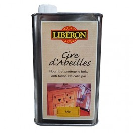 LIBÉRON Cire d'Abeille 0,5L Miel (liquide)