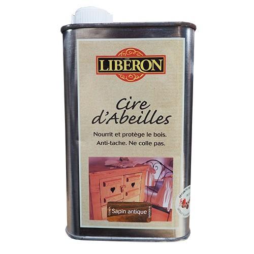 LIBÉRON Cire d'Abeille 0,5L Sapin Antique (liquide)