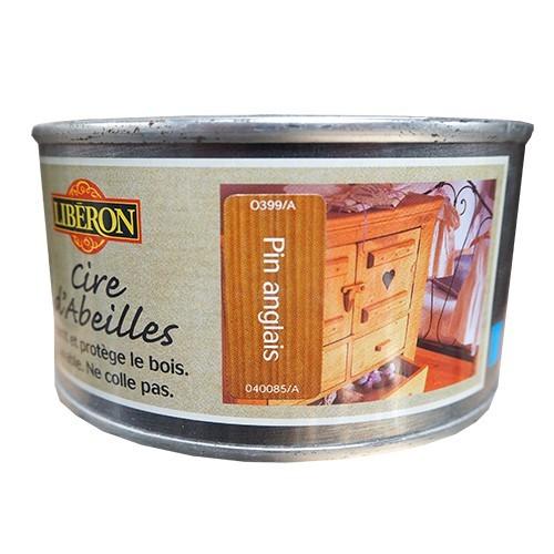 LIBÉRON Cire d'Abeille Pin Anglais (pâte)